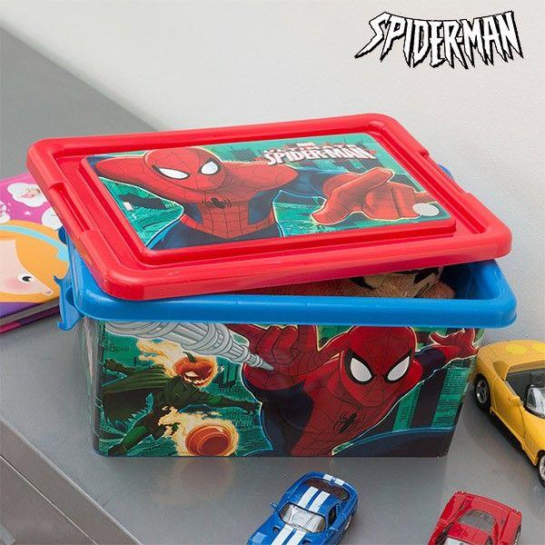 El mejor precio en Hogar 2017 en tu tienda favorita https://www.compraencasa.eu/es/organizadores/67609-organizador-de-juguetes-spiderman-32-x-23-cm.html