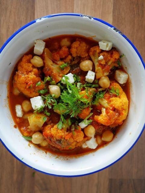 Recette de curry de chou fleur                                                                                                                                                                                 Plus