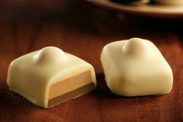 My absolutely favorite, Belgium Leonidas praline, here with white chocolate, mocca cream, noisette and hazelnut
