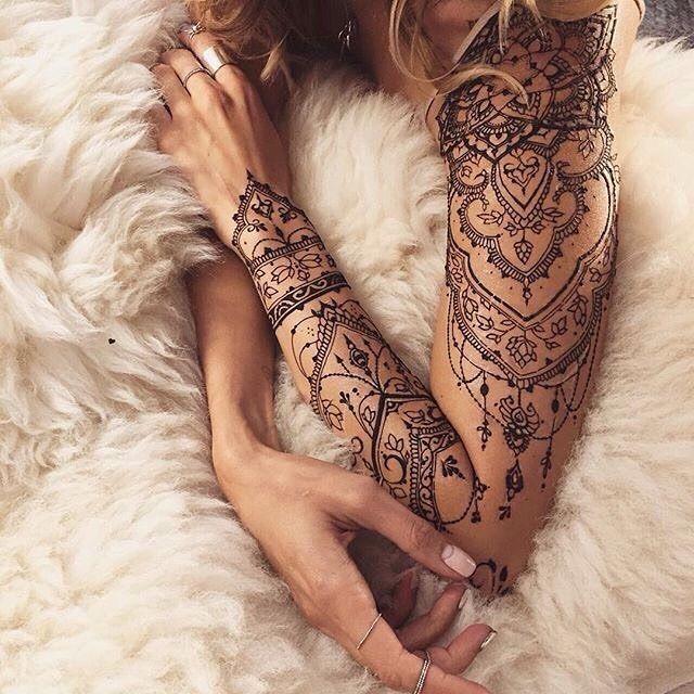 Mandala full sleeve tattoo