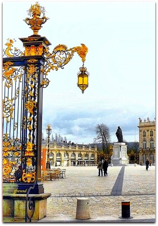 Place Stanislas, Nancy, France. Our tips for 25 Places to Visit in France: http://www.europealacarte.co.uk/blog/2011/12/22/what-to-see-in-france/