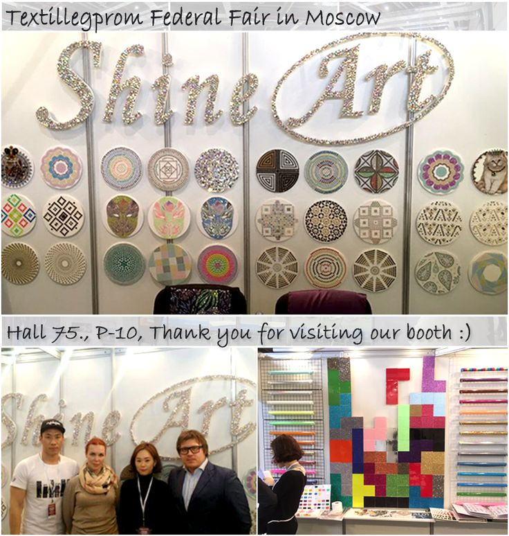 Thank you for visiting our booth,  Textillegprom Federal Fair in Moscow.