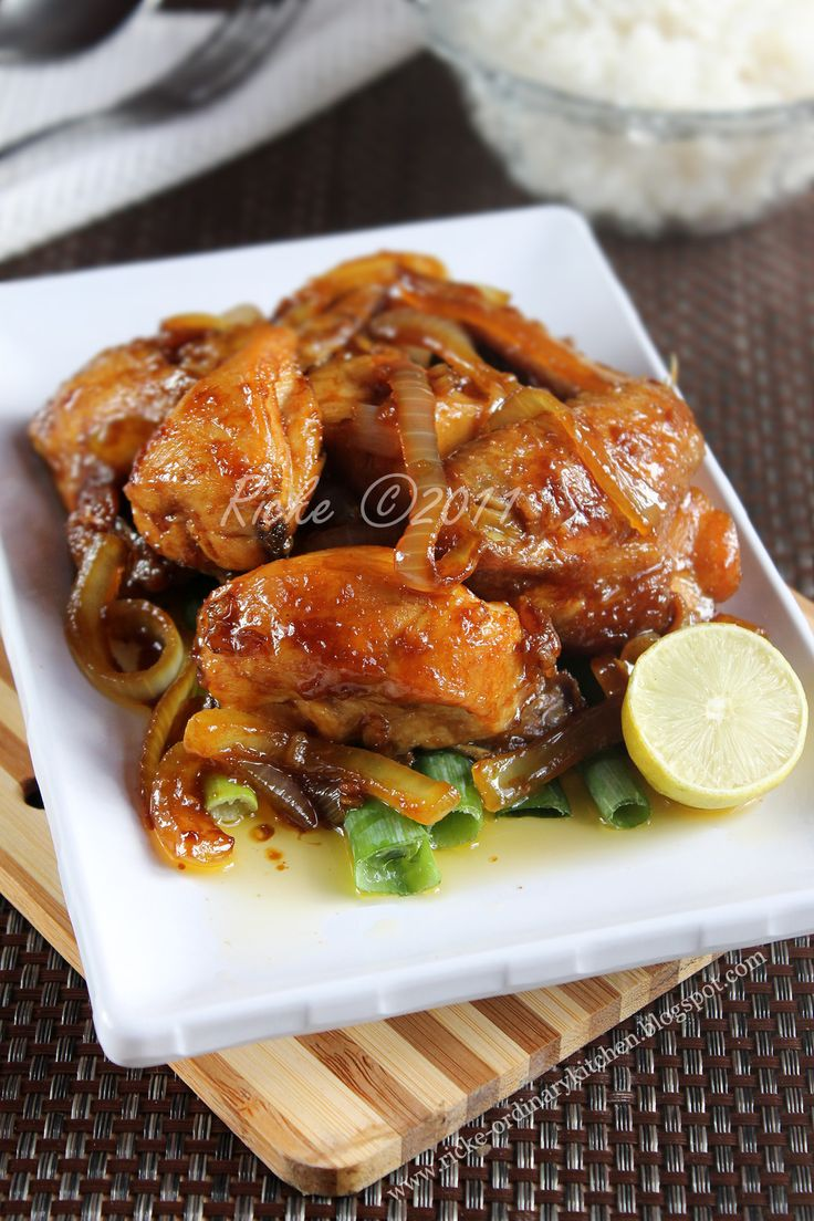 Just My Ordinary Kitchen...: AYAM GORENG MENTEGA