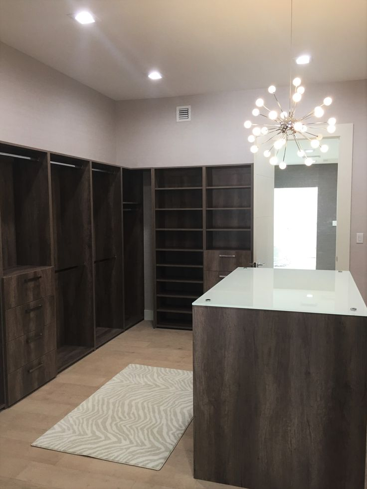 Master closet, everything has a space