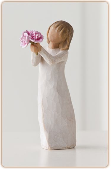 Willow Tree Figurine-Thank You  So appreciative of all you do!