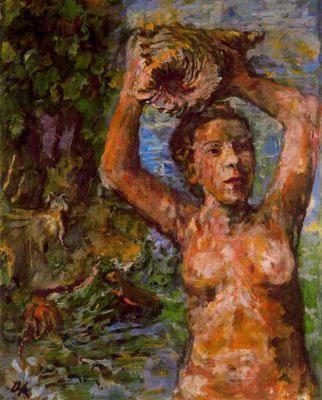 Ciudad de la pintura - La mayor pinacoteca virtua. Oskar Kokoschka., Ninfa, 1936.l