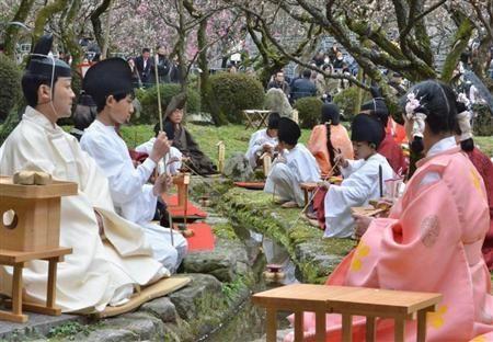 Reproduce Fukuoka Dazaifu Tenmangu Shrine, Heian picture scroll