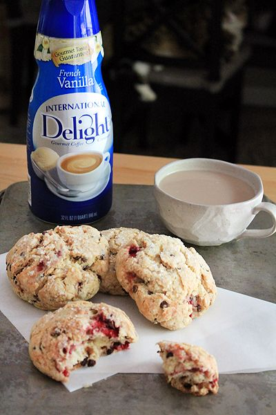 ID, ID scones, ID in coffee...magical breakfasts made easy! Thanks to Amber at www.bluebonnetsandbrownies.com for this yummy Neapolitan Scone recipe!