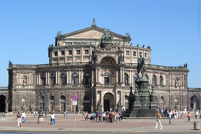 Semper Opera House  Dresden,Germany