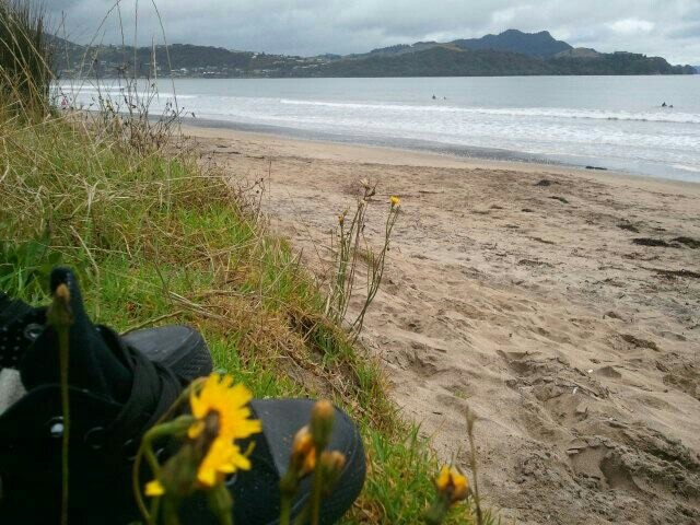 Day at beach-charlotte tunnard