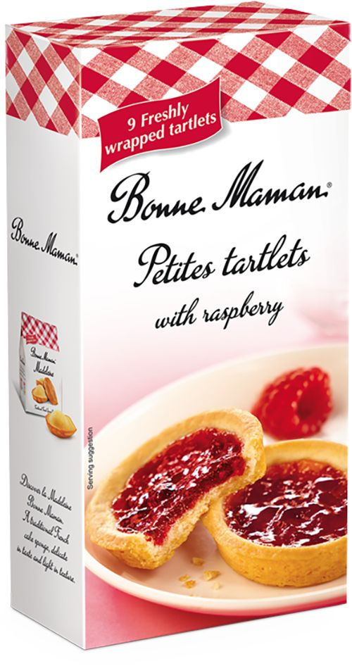 Bonne Maman Petites Tartlets are made to an authentic French recipe with the finest natural ingredients. Their deliciously crisp, buttery crust encases a rich, velvety filling of Lemon, bringing an indulgent little taste of France to any occasion.