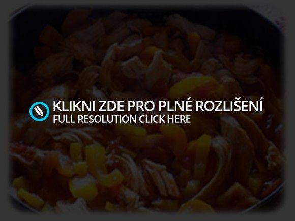 zapečené makarony s kuřecím masem a zeleninou - recept | Veruneecka
