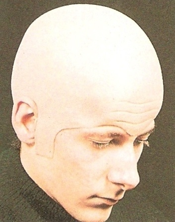 Deluxe Extra Thick Bald Head Skull Wig Cap Uncle Fester Fancy Dress Costume Hat | eBay