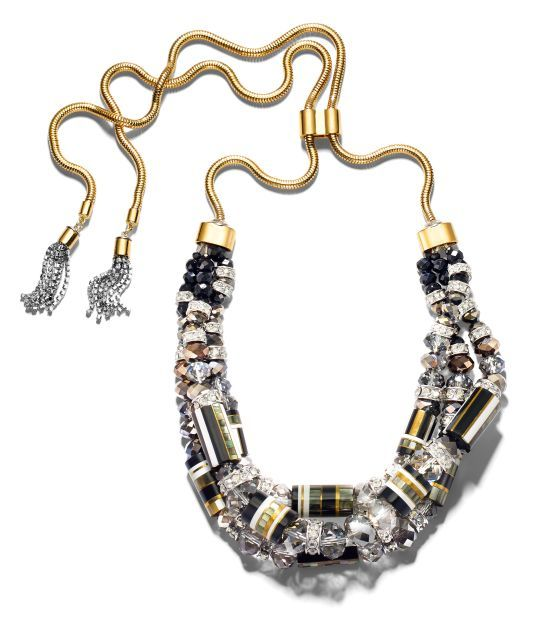 East Meets Myknos necklace, Bendel's: Henribendel, Meeting Mykonos, East Meeting, Bendel Mykonos, Henry Bendel, Gemstone Jewelry, Mykonos Necklaces, Accessories Accessible, Bags Accessories