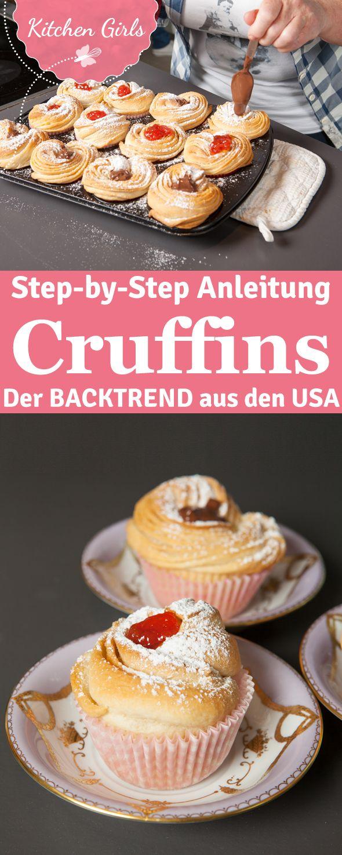 Step-by-Step-Anleitung für Cruffins
