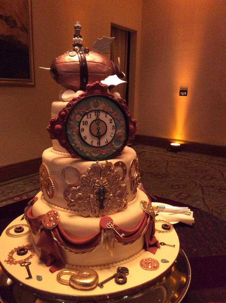 punk wedding cakes 67 best steampunk cakes images on steampunk 18846