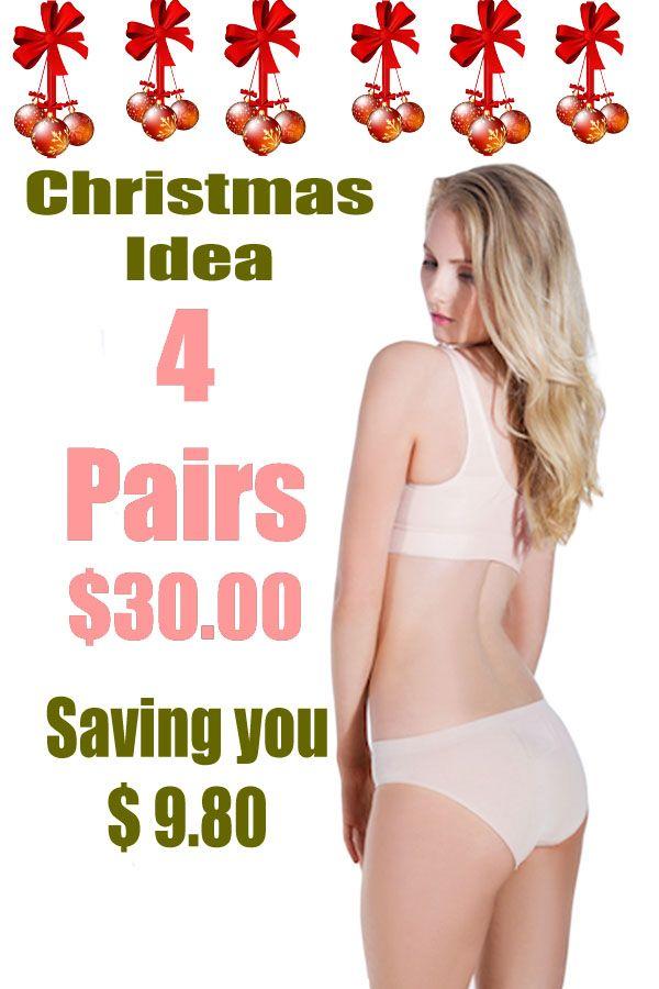 Underwear-Bamboo Bikini briefs 4 pairs deal