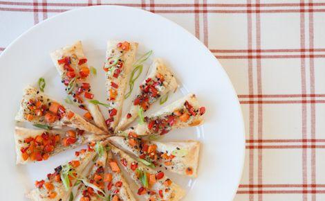 Epicure's Mini Veggie Puff Pizzas