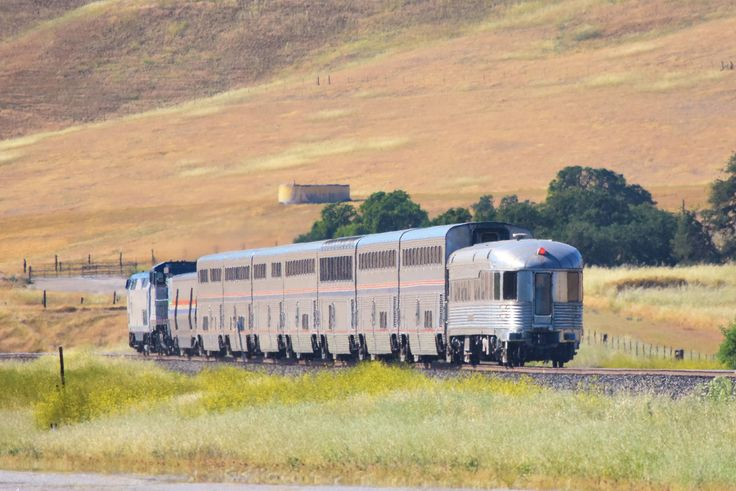 Amtrak along Bradley Rd. north of San Miguel, California - April 30, 2017 (1) | by hoteldennis