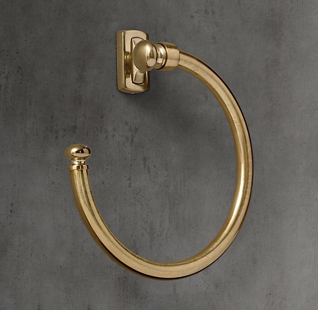 "towel ring | restoration hardware ""bistro"" 
