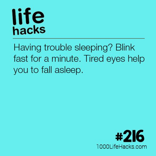 The post #216 – How To Fall Asleep Fast appeared first on 1000 Life Hacks.