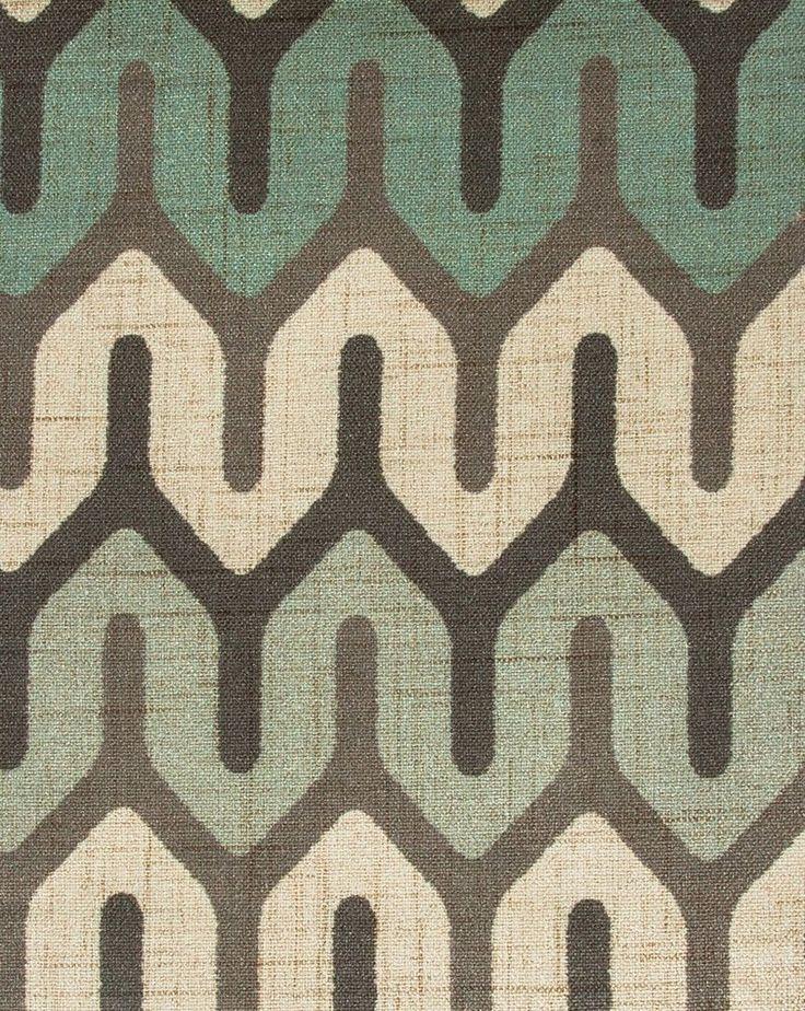 Tecido Estampado Trancas Creme, Cinza e Fendi - Site de tecidos para sofá, cortinas, papel de parede e móveis