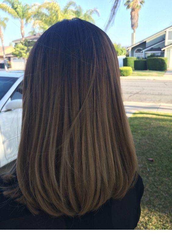 kurze, lange gerade Frisuren, nur mittellange Frisuren, Schult