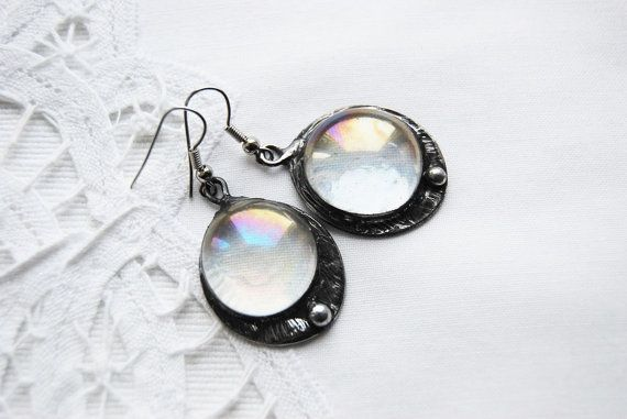 transparent bubbles clear glass beadwork by CreativeStudioML