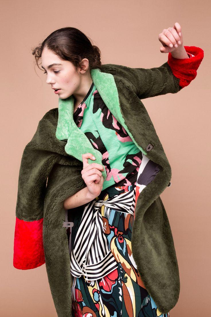 Holly Golightly Copenhagen - Pre SS16 Campaign / Photo: Trine Hisdal / Styling: Julie Svendal / Coreographer: Tone Reumert / Make-up: Pernille holm / Model: Madeleine - Scoop Models / SAKS POTTS / MARNI / OLIVIA VON HALLE / PROENZA SCHOULER