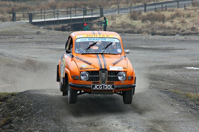 Saab 96 Mid Wales Stages Rally