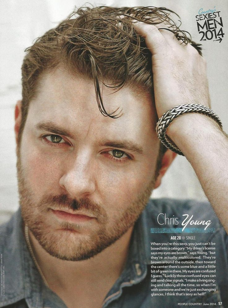 Chris Young is my Nashville husband and no one can convince me otherwise.