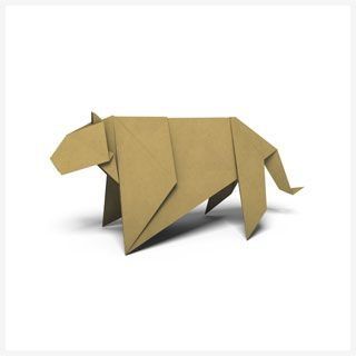 Origami Patterns | Pages | WWF  16 animal patterns