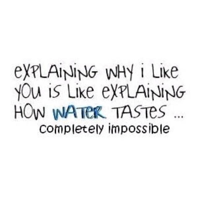 I Love You Like Quotes: Why I Like You