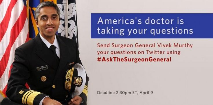 Here are 15 questions on pot for U.S. Surgeon General Vivek Murthy today