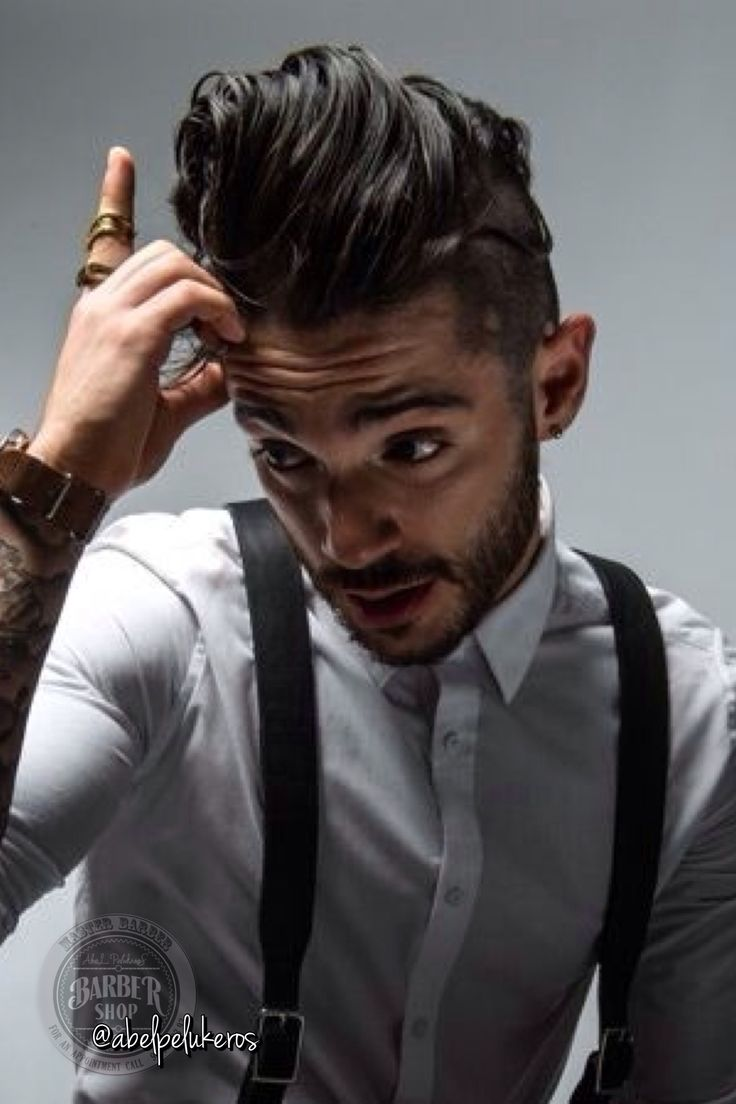 mens haircut styles 25 tattooed guys with amazing hairstyles hair cuts 9520 | 3b379088194d73fd4c64e01d6fa3702c