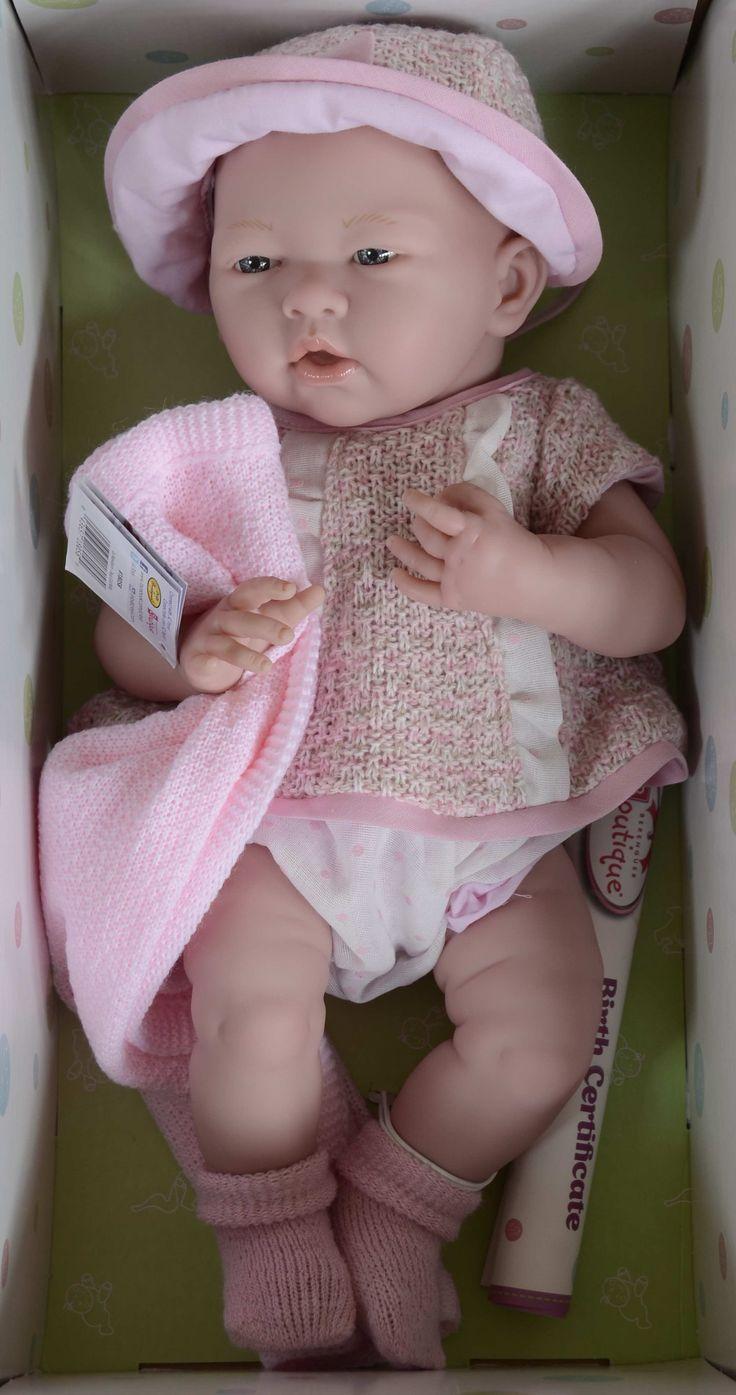 Realistické miminko - holčička Světla od firmy Berenguer