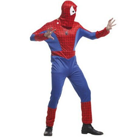 >> Click to Buy << spiderman clothes adult spiderman costume jumpsuit spiderman party supplies halloween cosplay costumes men's movie costumes #Affiliate