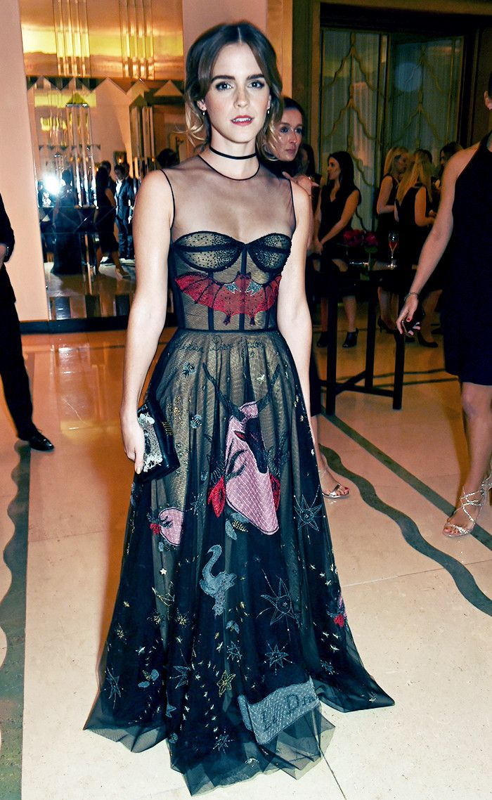 16 Times Emma Watson's Red Carpet Style Surprised Us (in the Best Way) via @WhoWhatWear
