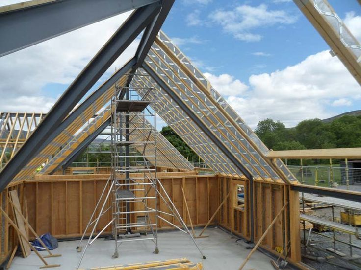 40 Vaulted Parallel Chord Truss Google Search Barns