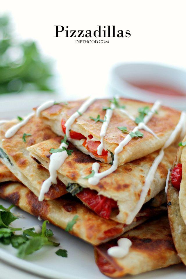 Pizzadillas | Recipe | Pepperoni, Pizza and Fresh basil