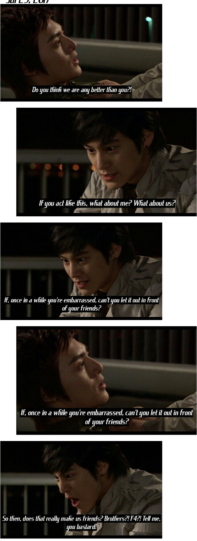 Brothers Woo Bin and Yi Jung| Boys over flowers