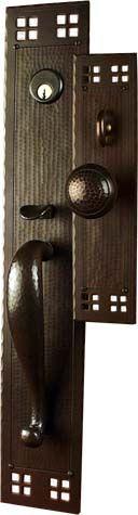 Glamorous Craftsman Style Front Door Hardware Ideas   Exterior Ideas .
