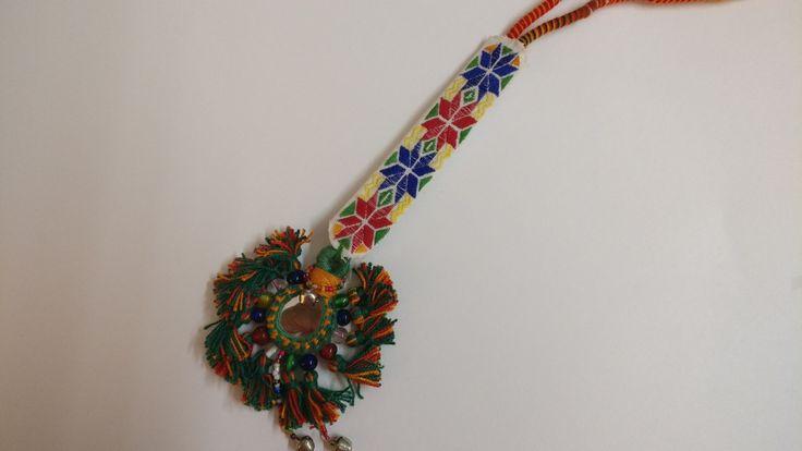 Pendant #suf embroidery #kutch