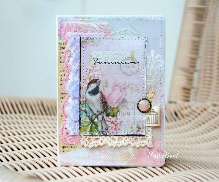Hand Made with Love: Обложки на паспорт