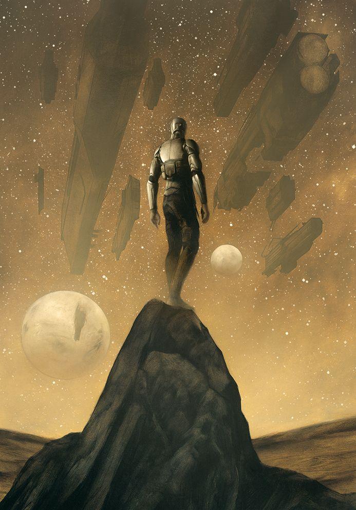 """Here Are The Brand New Illustrations For Frank Herbert's """"Dune"""""""