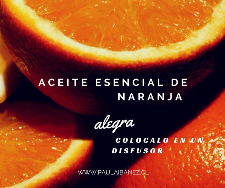 Aceite esencial de Naranja