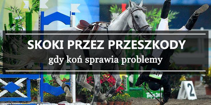 Skoki przez przeszkody - gdy koń sprawia problemy cz. I