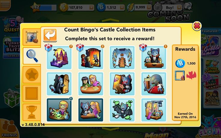 Count Bingo's Castle room complete