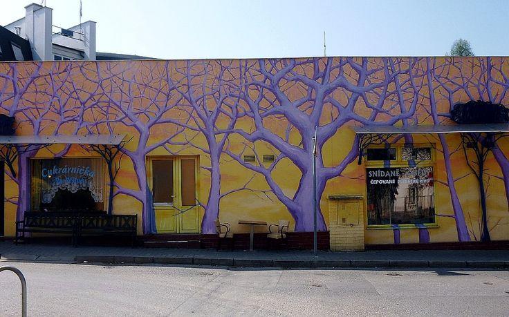 Art facade in Prague