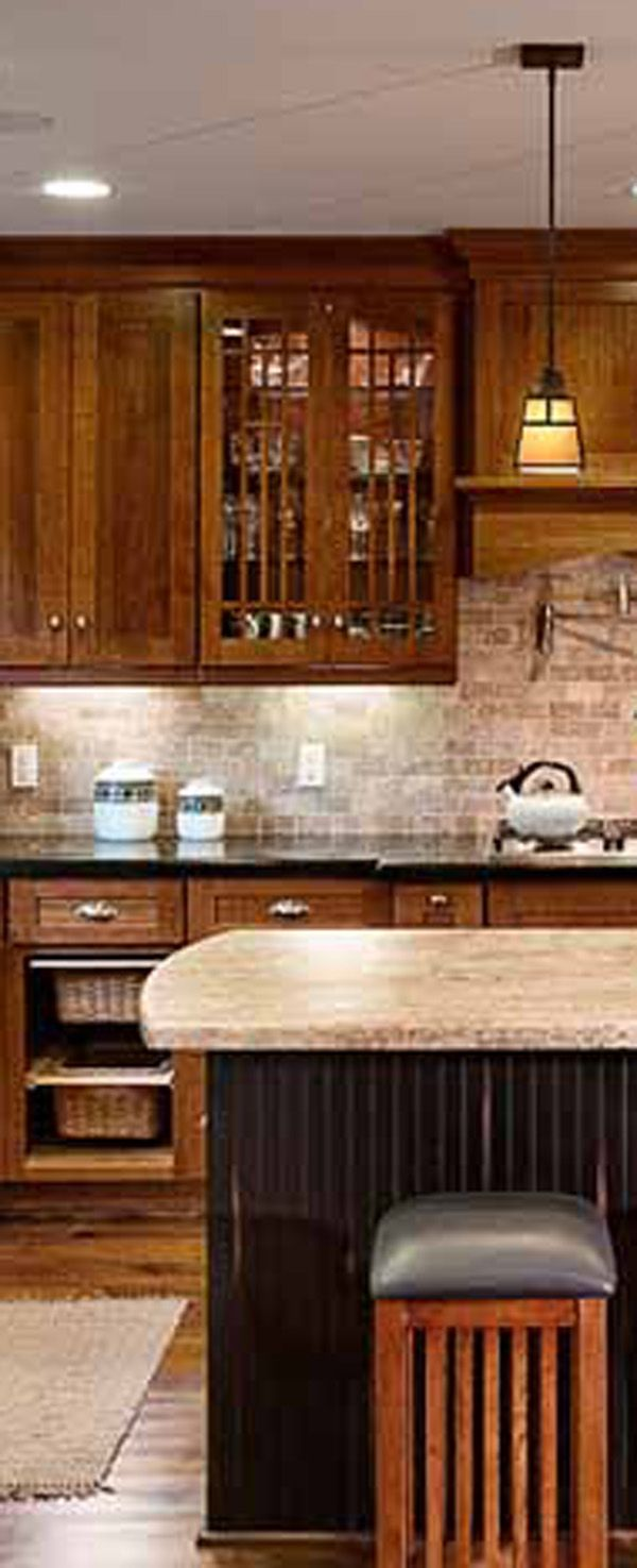 113 best i craftsman style images on pinterest craftsman traditional craftsman kitchen design with kitchen island dura supreme cabinetry designed